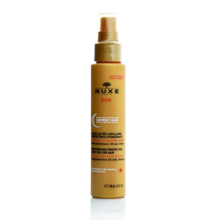 Nuxe Sun Moisturising Milky Oil for Hair, Αντηλιακό Ενυδατικό Γαλάκτωμα Μαλλιών 100ml
