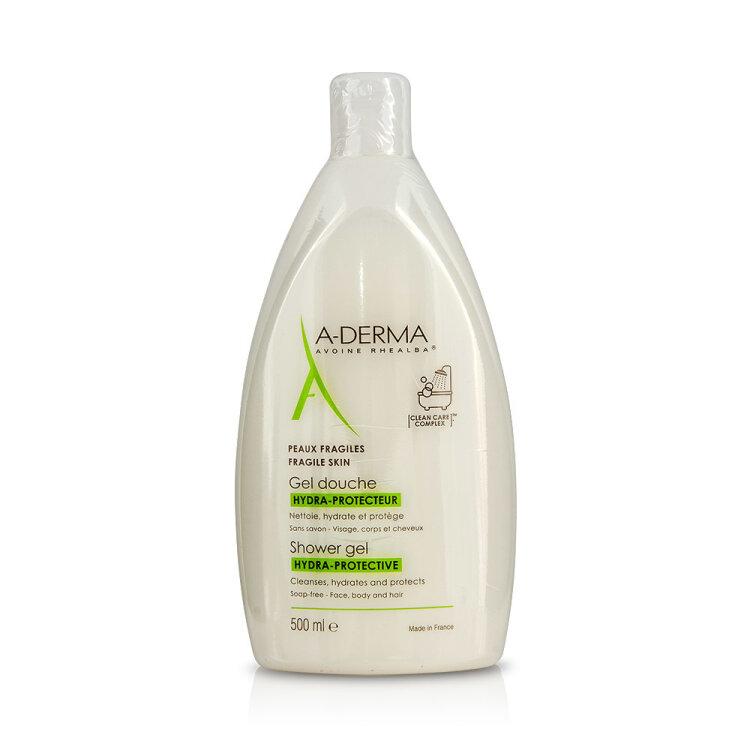 A-Derma Exomega Emollient Foaming Gel, Αφρίζον Τζελ Καθαρισμού για το Πολύ Ξηρό-Ατοπικό Δέρμα 500ml