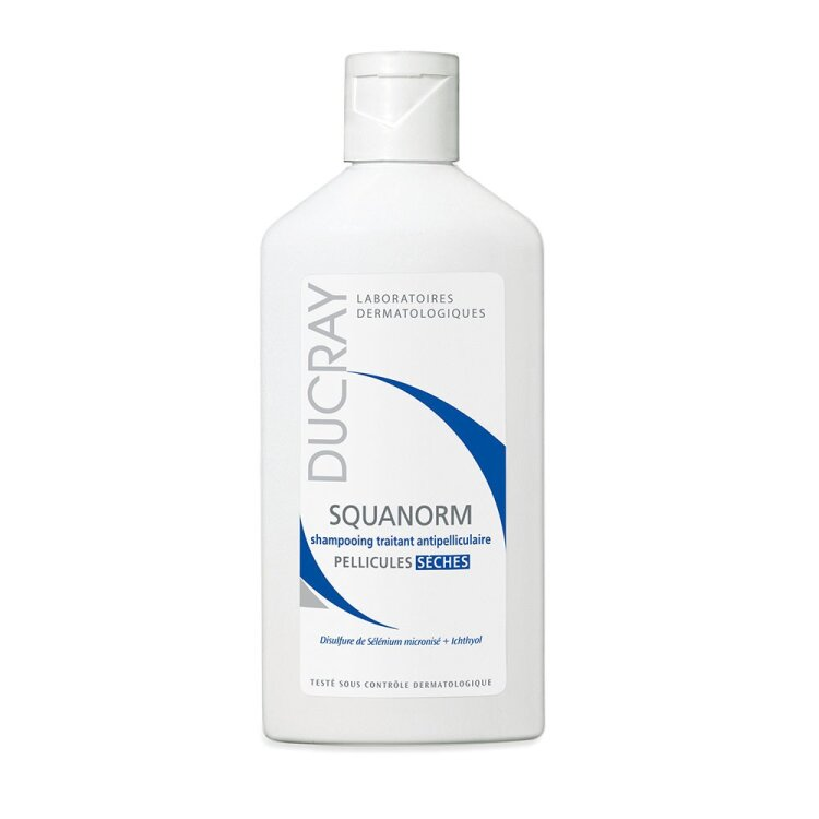 Ducray Squanorm Shampooing Pellicules Seches, Σαμπουάν για Ξηρή Πιτυρίδα 200ml