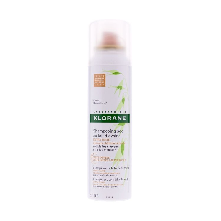 Klorane Avoine Με Βρώμη Dry Shampoo για Καθαρά και Ανάλαφρα Μαλλιά με Όγκο με Χρώμα