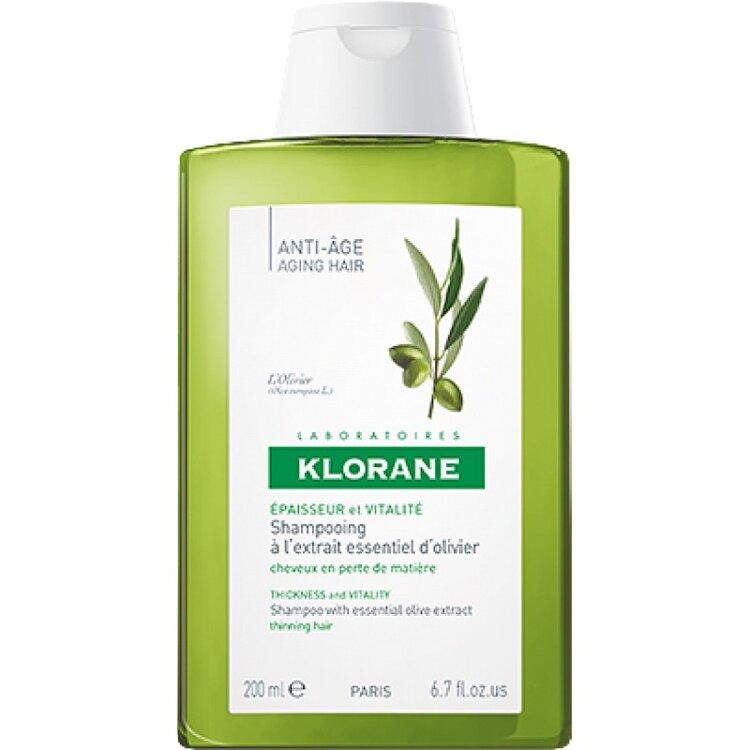 Klorane Σαμπουάν με εκχύλισμα Ελιάς της Πελοποννήσου για εύθραυστα-λεπτά μαλλιά 200ml