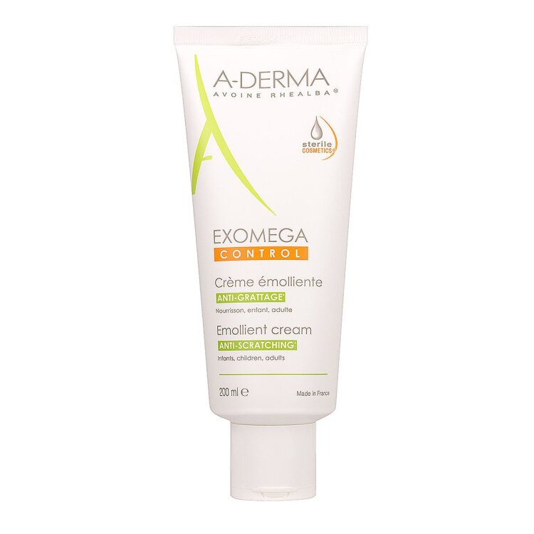 A-Derma Exomega Control Creme DEFI Μαλακτική Κρέμα για Ατοπικό - Ξηρό Δέρμα 200ml