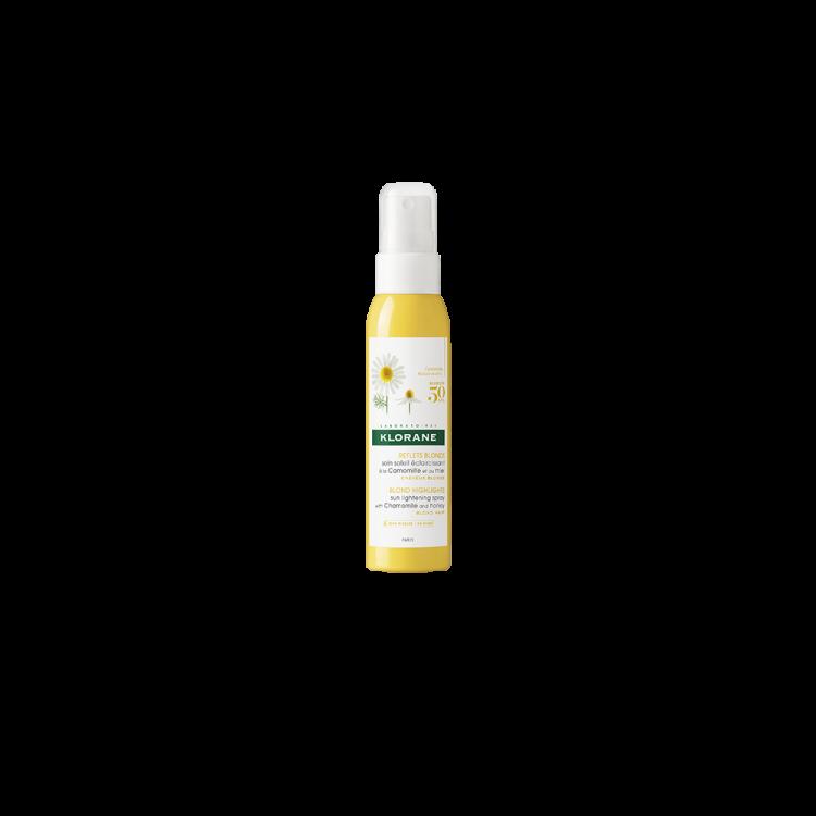 Klorane Camomille Spray για Φυσικές Ξανθιές Ανταύγιες με Χαμομήλι και Μέλι 125ml