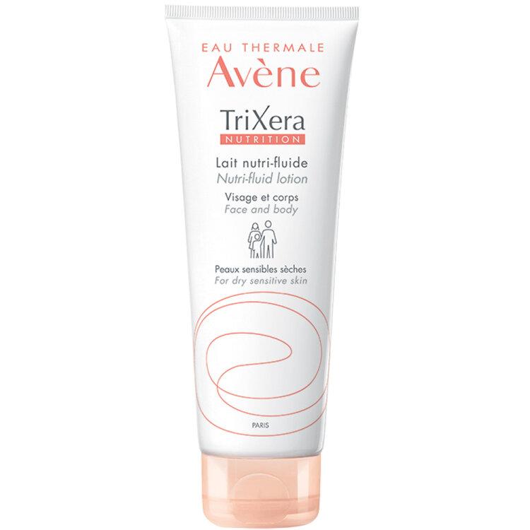 Avene Trixera Nutrition Lait Nutri-Fluid Lotion, Ενυδατική Λοσιόν Πρόσωπο/Σώμα Ξηρό/Ευαίσθητο Δέρμα 200ml