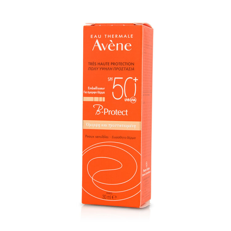 Avene B-Protect Αντιηλιακή Κρέμα για Πρόσωπο και Λαιμό κατά της Ρύπανσης SPF50 30ml