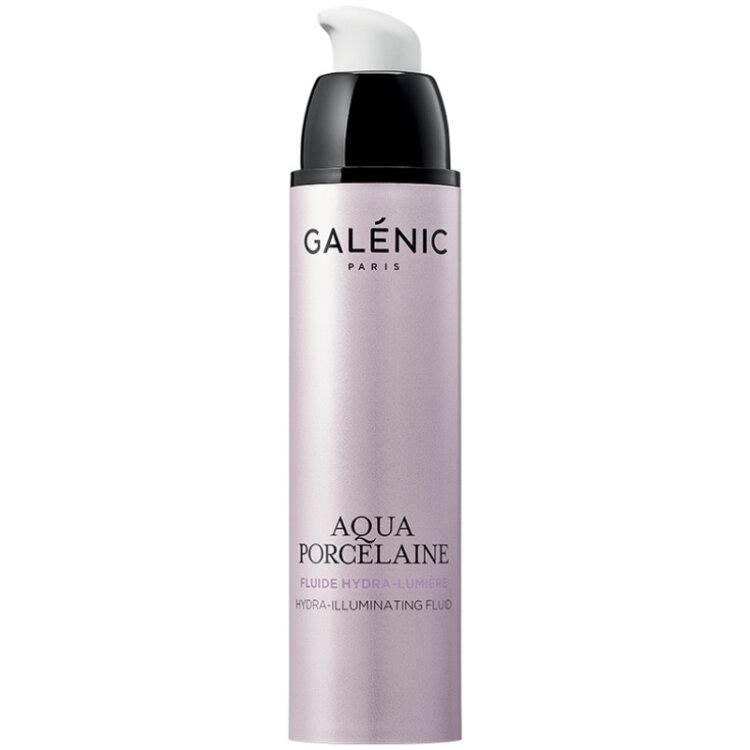 Galenic Aqua Porcelaine Hydra-Illuminating Fluid Ενυδατική Κρέμα Ημέρας για Φωτεινότητα 50ml