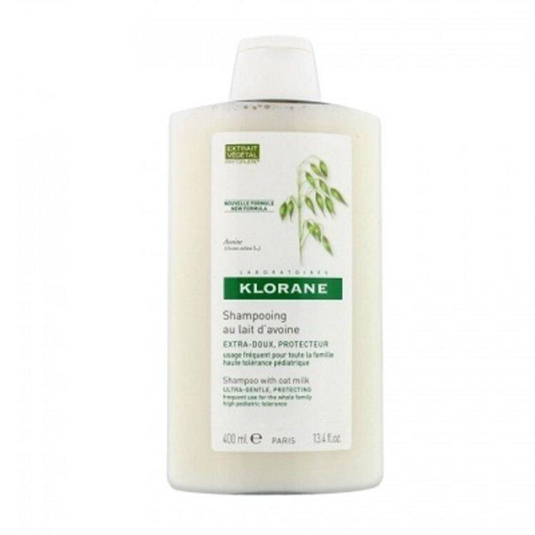 Klorane Shampooing au Lait D'avoine Σαμπουάν με Γαλάκτωμα Βρώμης για Καθημερινή Χρήση 400ml
