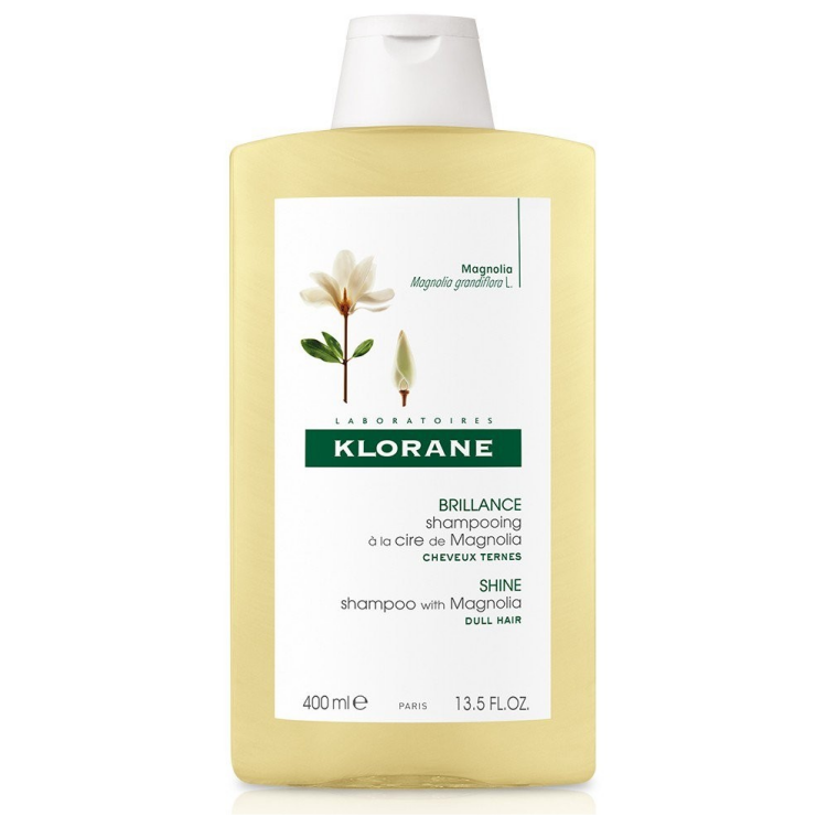 Klorane Shine Shampoo with Magnolia Σαμπουάν Μαλλιών για Λάμψη 400ml