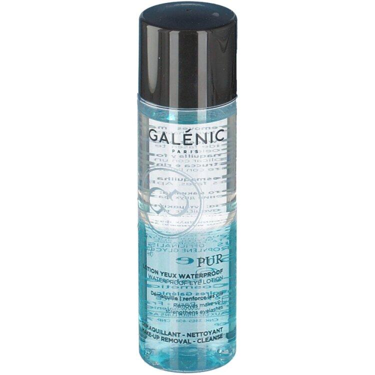 Galenic Pur Lotion Yeux Waterproof, Αδιάβροχη Διφασική Λοσιόν Μάτιών 125ml