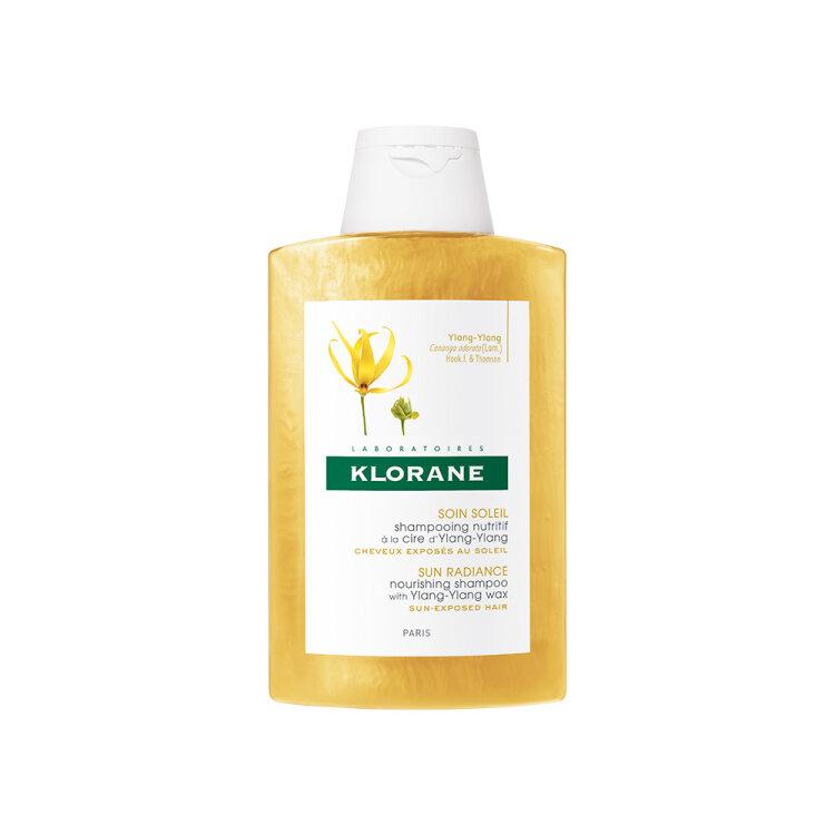 Klorane Soin Soleil Shampooing Ylang-Ylang, Σαμπουάν Θρέψης με Κερί Ylang-Ylang 200ml