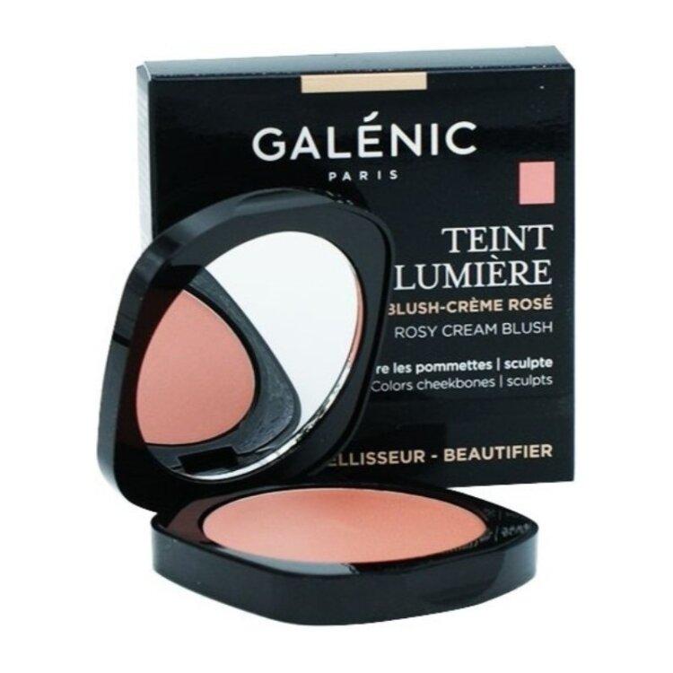 Galenic Teint Lumiere Blush Creme Rose Ρόδινο Κρεμώδες Ρουζ 5gr