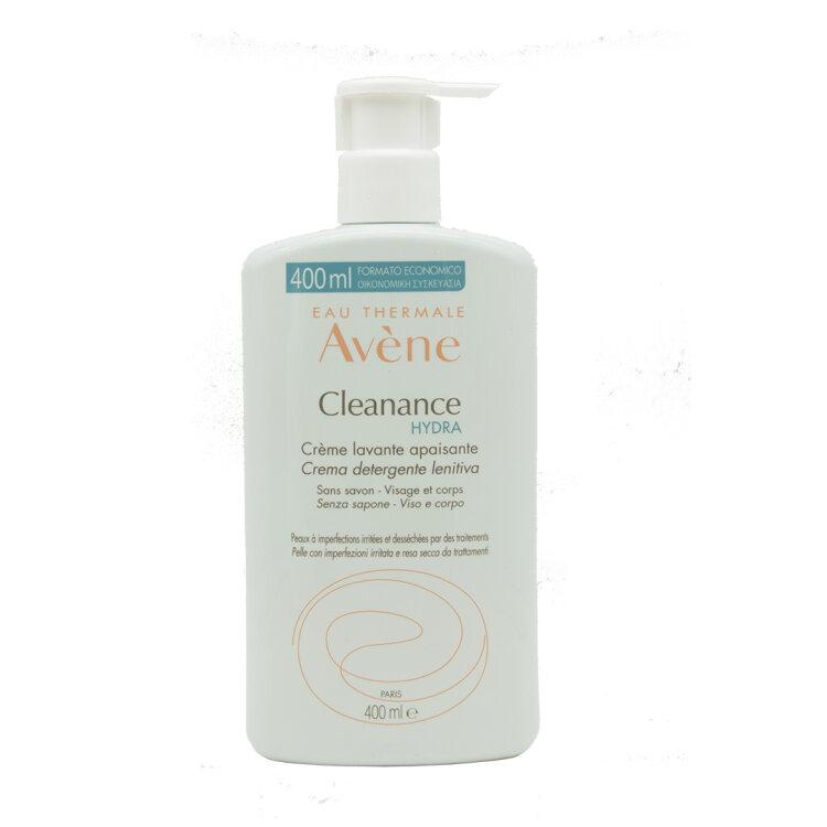 Avene Eau Thermale Cleanance HYDRA Creme Lavante Apaisante Καταπραϋντική Κρέμα Καθαρισμού 400ml