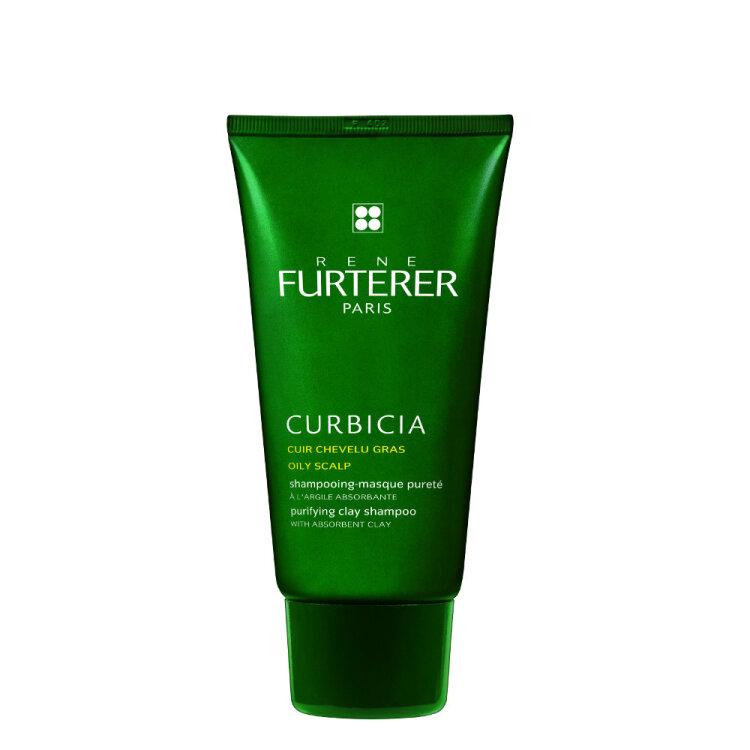 Rene Furterer Curbicia Σαμπουάν - Μάσκα Kαθαρισμού για Λιπαρά Μαλλιά με Απορροφητική Άργιλο 200ml