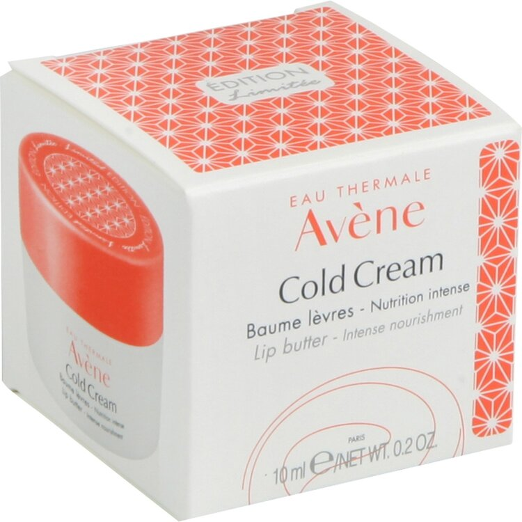 Avene Limited Edition Cold Cream Baume Χειλιών Εντατικής Θρέψης 10ml