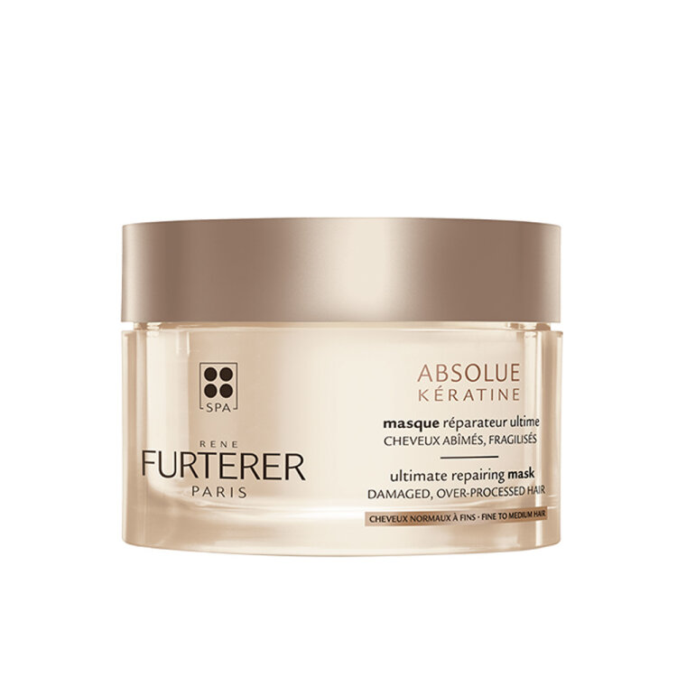 Rene Furterer Absolue Keratine Renewal Care Ultimate Repairing Mask Μάσκα Αναδόμησης Μαλλιών,Λεπτή Τρίχα 200ml