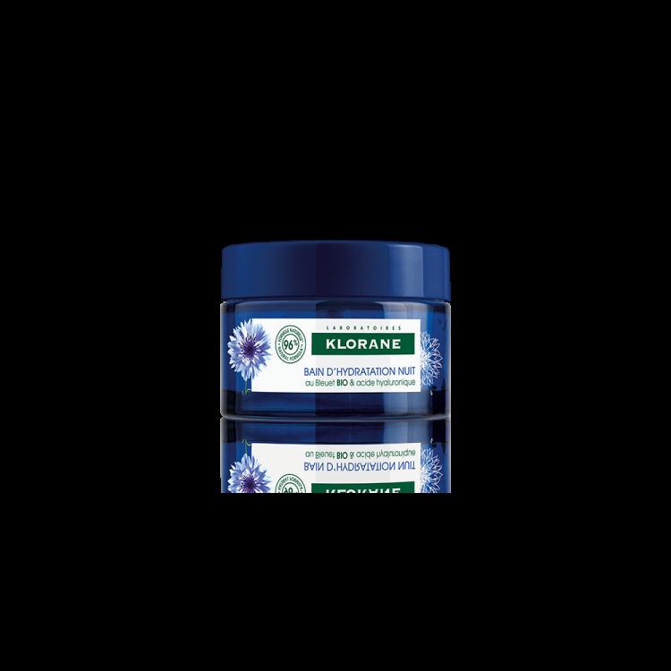 Klorane Bleuet Κρέμα Νυκτός με Φυτικό Υαλουρονικό Οξύ 50ml