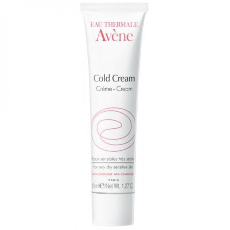 Avene Cold Cream - Κρέμα για Ευαίσθητο & Ξηρό Δέρμα, Κατάλληλο και για Βρέφη Παιδιά Ενήλικες 40ml