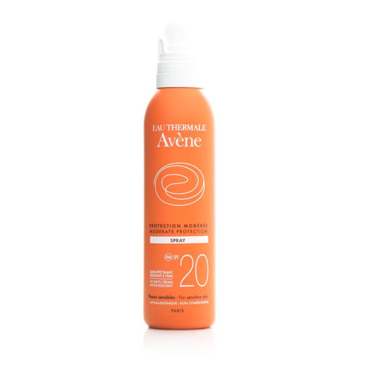 Avene Soins Solaires Spray SPF20, Αντηλιακό Προσώπου & Σώματος 200ml