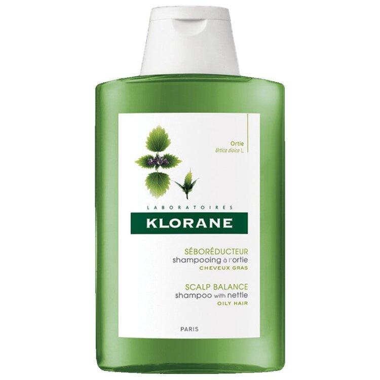 Klorane Ortie Με Τσουκνίδα Σαμπουάν κατά της Λιπαρότητας με Εκχύλισμα Τσουκνίδας - 400ml