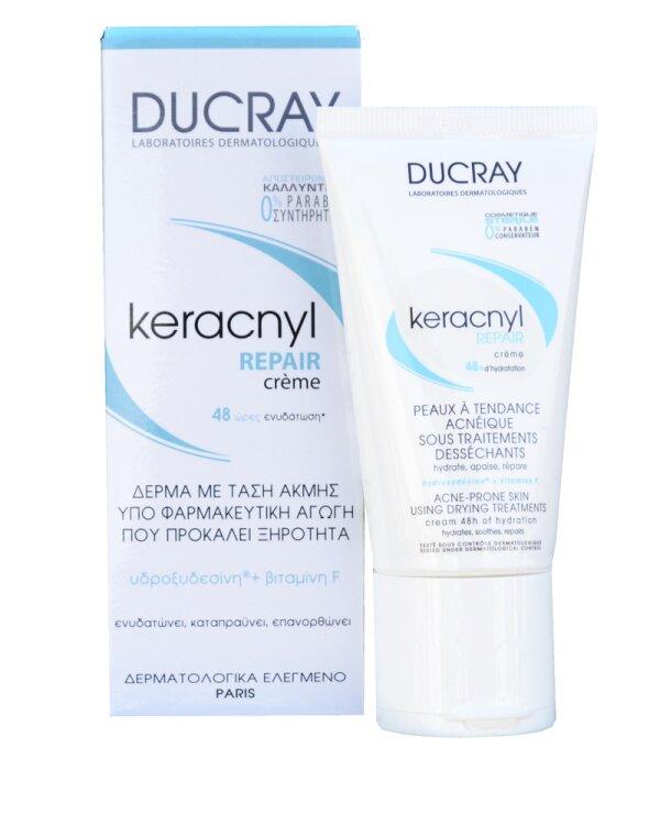 Ducray PROMO Kerancyl Repair Creme, 50ml + ΔΩΡΟ Kerancyl Gel, 40ml