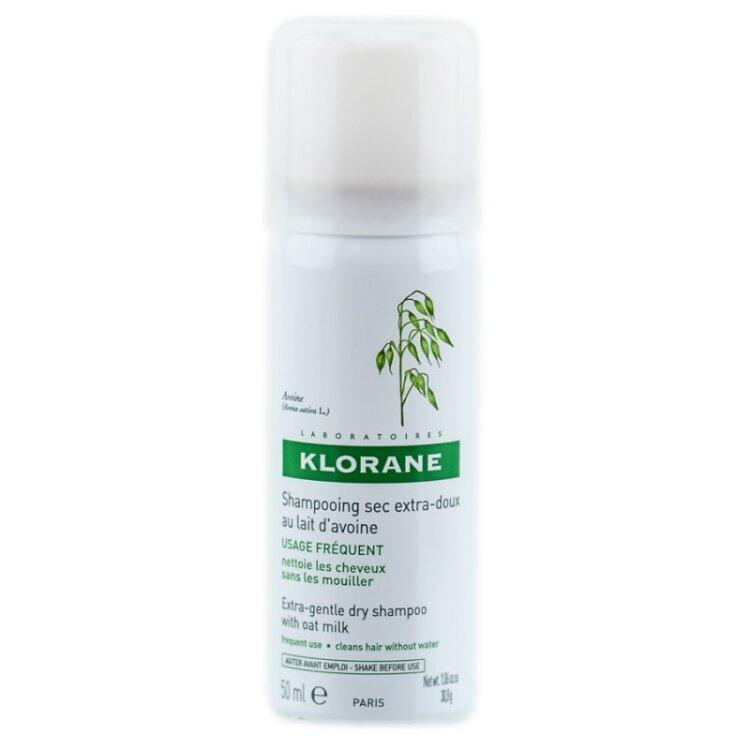Klorane Avoine Με Βρώμη Dry shampoo για καθαρά και ανάλαφρα μαλλιά με όγκο - 50ml