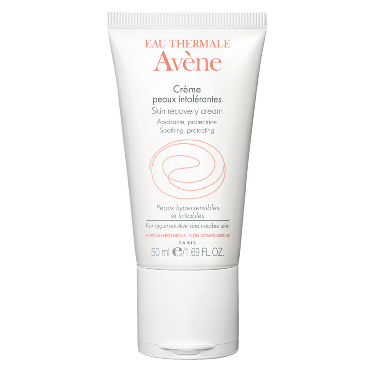 Avene Creme Peaux Intolerantes, Καταπραϋντική Κρέμα για Ευαίσθητα Δέρματα Ελαφριάς Υφής 50ml