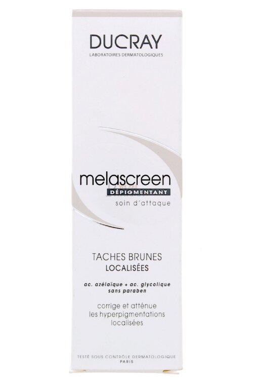 Ducray Melascreen Depigmentant, Τοπική Κρέμα για την Διόρθωση των Κηλίδων-Πανάδων 30ml
