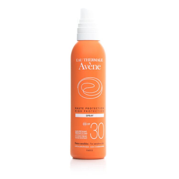Avene Soins Solaires Spray SPF30, Αντηλιακό Προσώπου & Σώματος 200ml