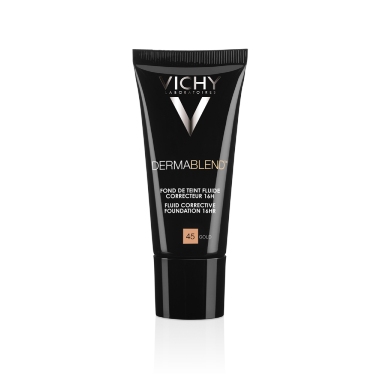Vichy Dermablend Fluide SPF35 Διορθωτικό Ματ Make-Up 45 Gold 30ml