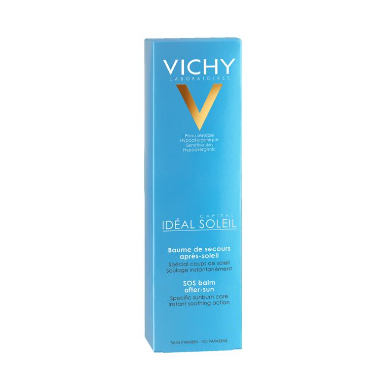 Vichy Ideal Soleil After Sun Γαλάκτωμα για Εγκαύματα από τον Ήλιο 100ml