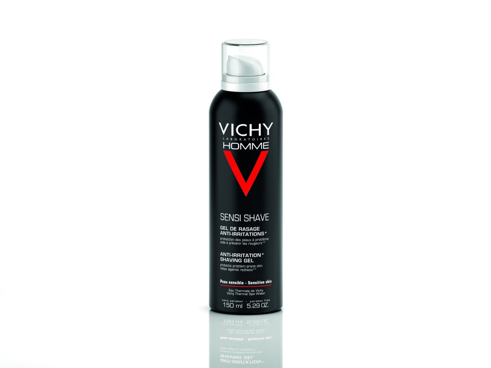 Vichy Ηοmme Gel Ξυρίσματος Κατά των Ερεθισμών, 150ml