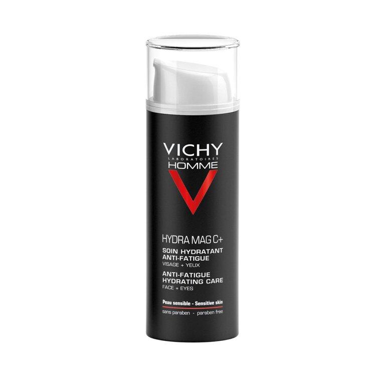 Vichy Homme Hydra Mag C+ Ενυδατική Φροντίδα Αναζωογόνησης ,Προσώπου & Ματιών 50ml