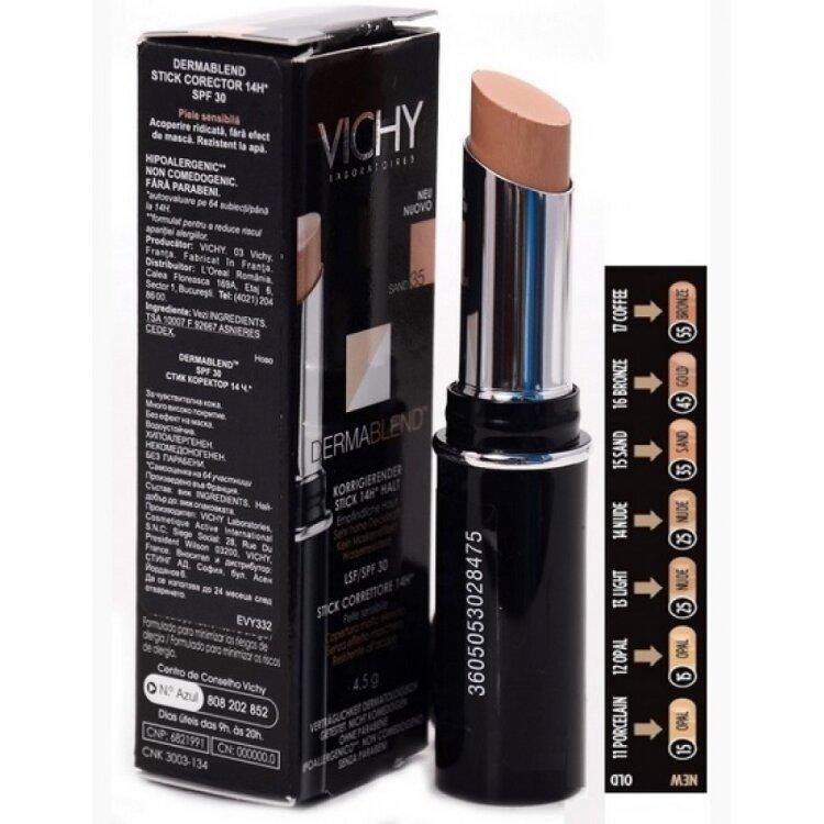 Vichy Dermablend Concealer Stick Gold 45, SPF30