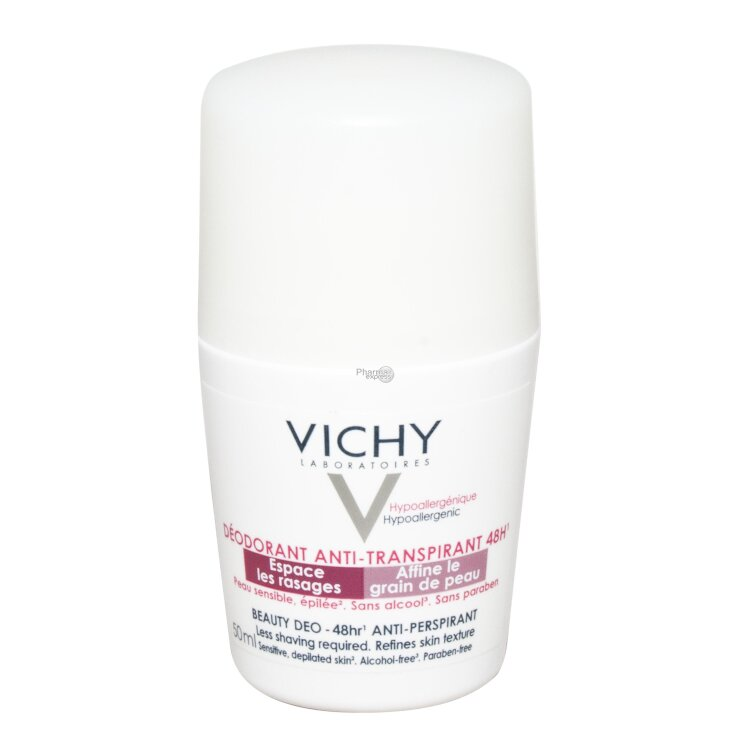 Vichy Deo Ideal Finish 48h Αποσμητικό Roll On 50ml
