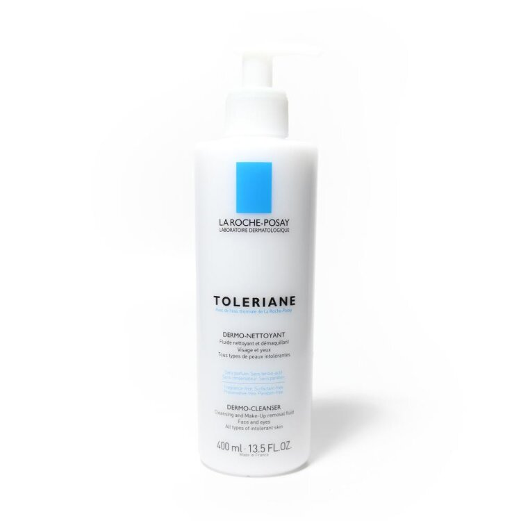 La Roche Posay Toleriane Dermonettoyant, Γαλάκτωμα Καθαρισμού Προσώπου - Ματιών 400ml