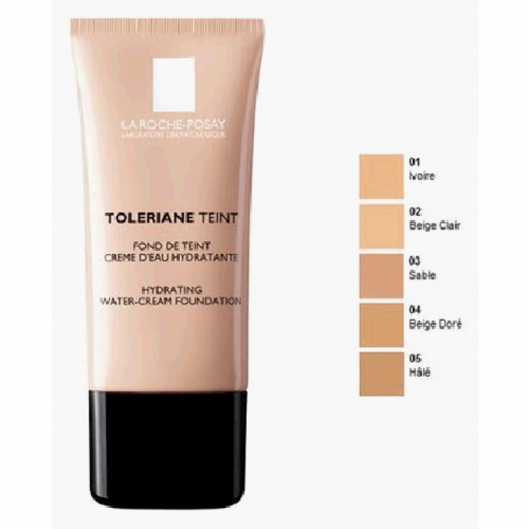 La Roche Posay Toleriane Cream Foundation Ενυδατικό Make-Up, Golden Beige 04 30ml