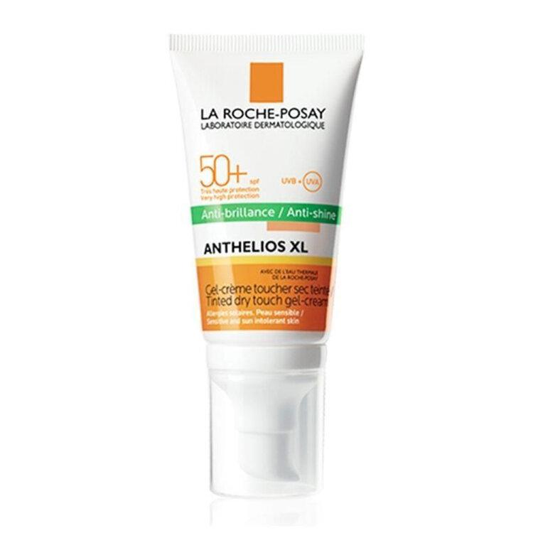 Anthelios XL Anti-Brillance Tinted SPF50+ Αντηλιακή Gel Κρέμα Προσώπου με Χρώμα Ματ Αποτέλεσμα 50ml