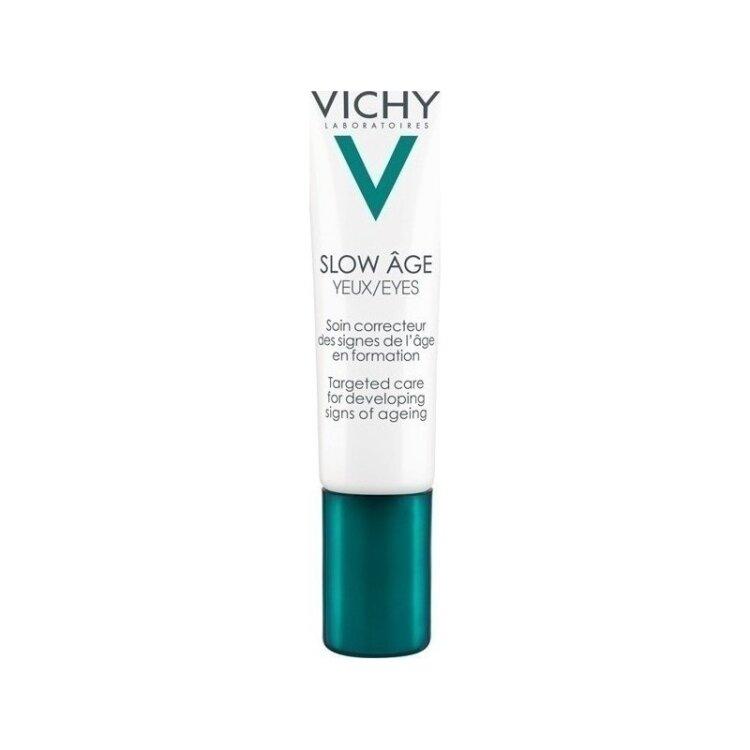 Vichy Slow Age Eyes Κρέμα Ματιών για Πρόληψη των Σημαδιών Γήρανσης 15ml