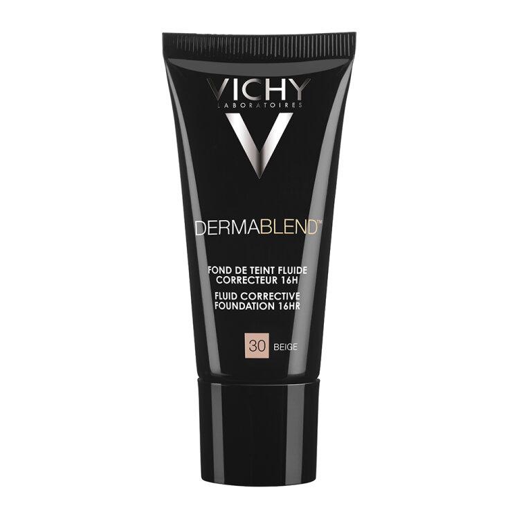 Vichy Dermablend SPF35 Fluid Corrective Foundation 16HR Beige 30, 30ml