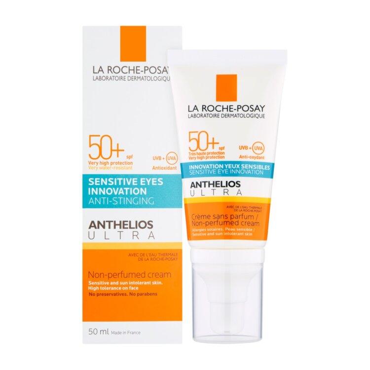 La Roche Posay Anthelios Ultra Cream SP SPF50+ Αντηλιακή Κρέμα Προσώπου και Ματιών χωρίς άρωμα 50ml