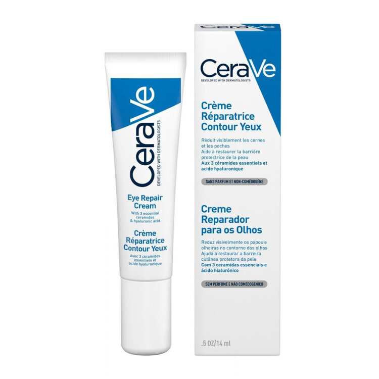 Cerave Eye Repair Cream Κρέμα Ματιών για Επανόρθωση 0,5ΟΖ, 14ml