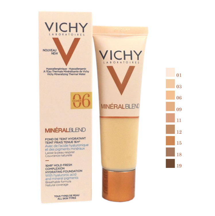 Vichy Mineral Blend Make-Up Fluid 06 Dune 30ml