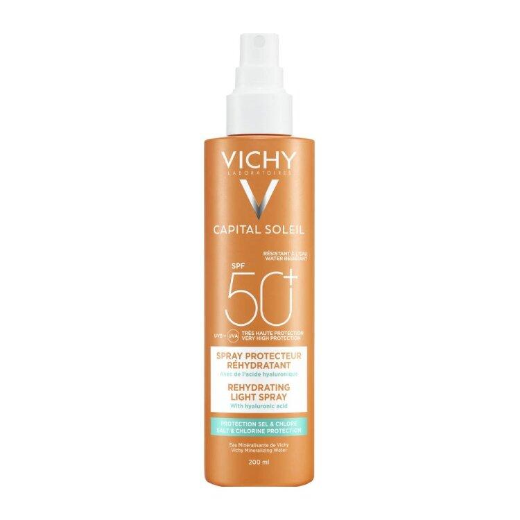 Vichy Capital Soleil Beach Protect SPF50+ Anti-Dehydration Spray 200ml