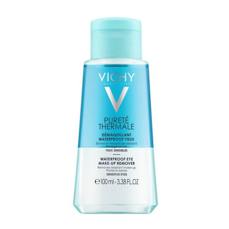 Vichy Purete Thermale Waterproof Eye Make-up Remover Ντεμακιγιάζ Ματιών 100ml