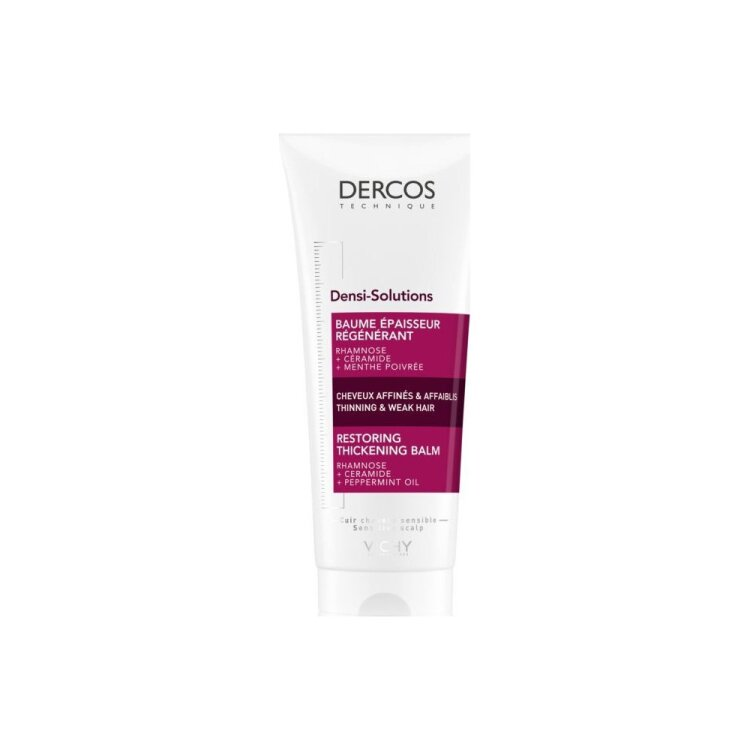Vichy Dercos Densi-Solutions Restoring Thickening Balm για Πύκνωση Λεπτών & Αδύναμων Μαλλιών 200ml