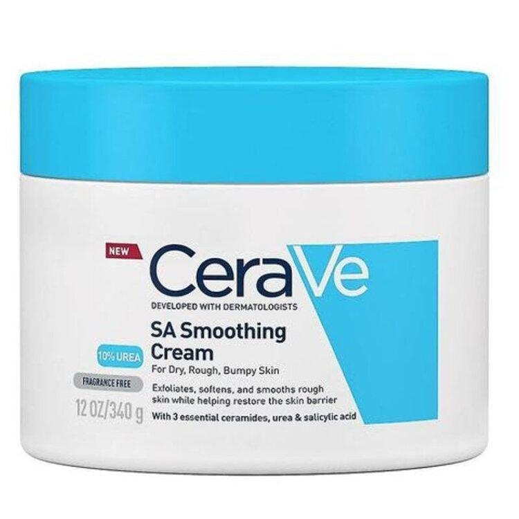 CeraVe SA Smoothing Cream Κρέμα Ενυδατική & Απολεπιστική 340gr