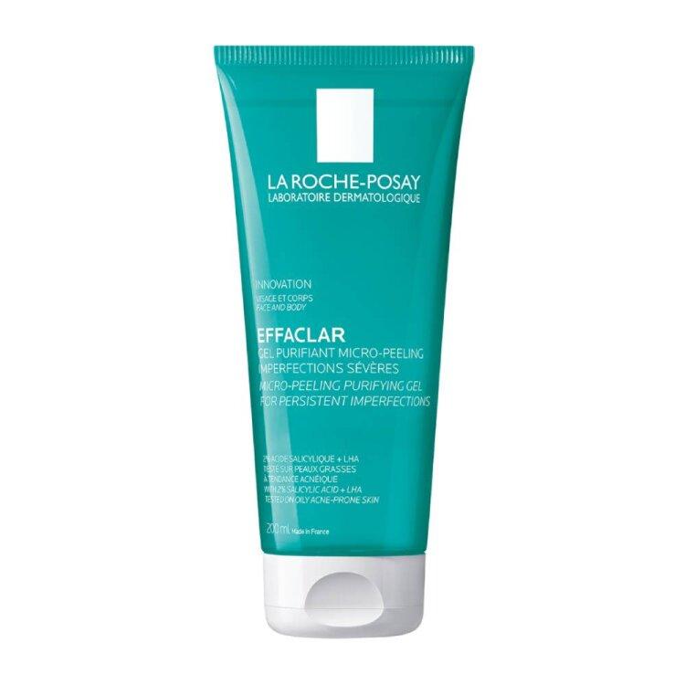 La Roche Posay Effaclar Μιcro-Peeling Purifying Gel Αφρώδες Gel Καθαρισμού 200ml