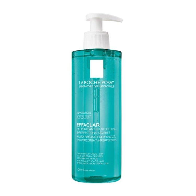 La Roche Posay Effaclar Μιcro-Peeling Purifying Gel Αφρώδες Gel Καθαρισμού 400ml