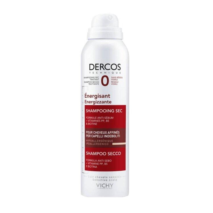 Vichy Dercos Energissant Dry Shampoo Δυναμωτικό Ξηρό Σαμπουάν για Μαλλιά με Τριχόπτωση 150ml