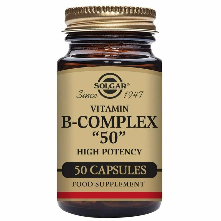 Solgar B-50 Complex  50 Φυτικές Κάψουλες